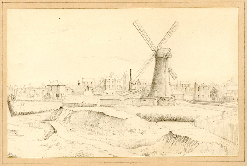 Windmill in 1816