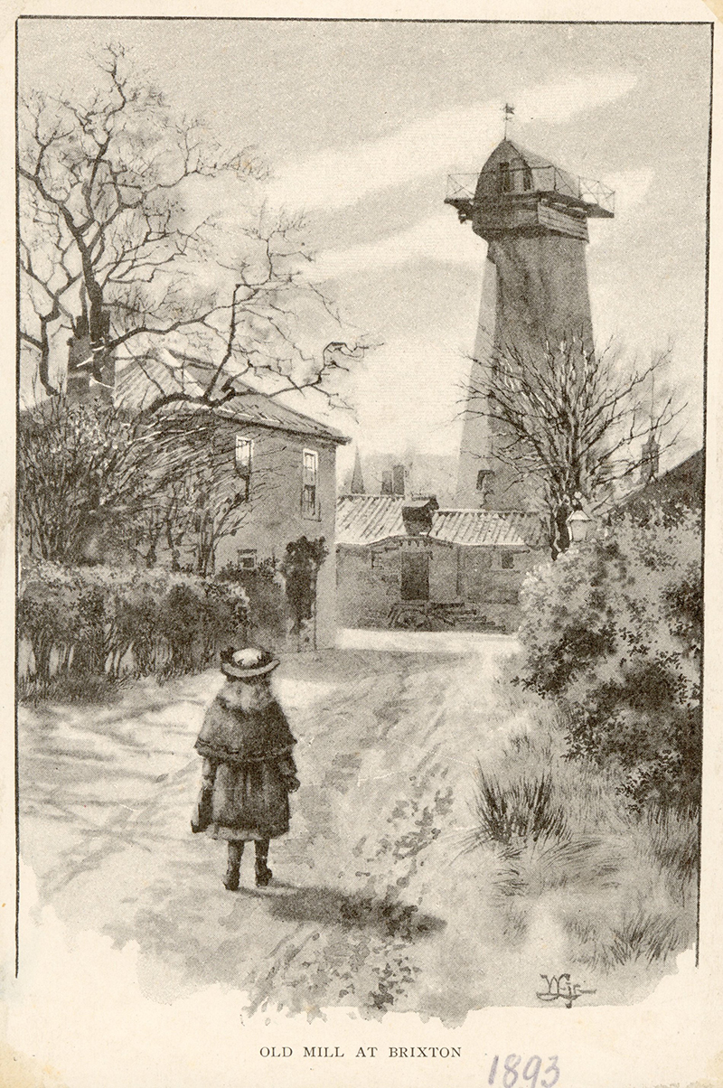 Brixton Windmill in 1862