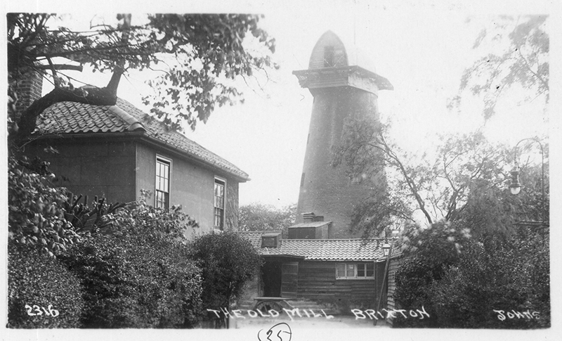 The old mill Brixton - historic photo