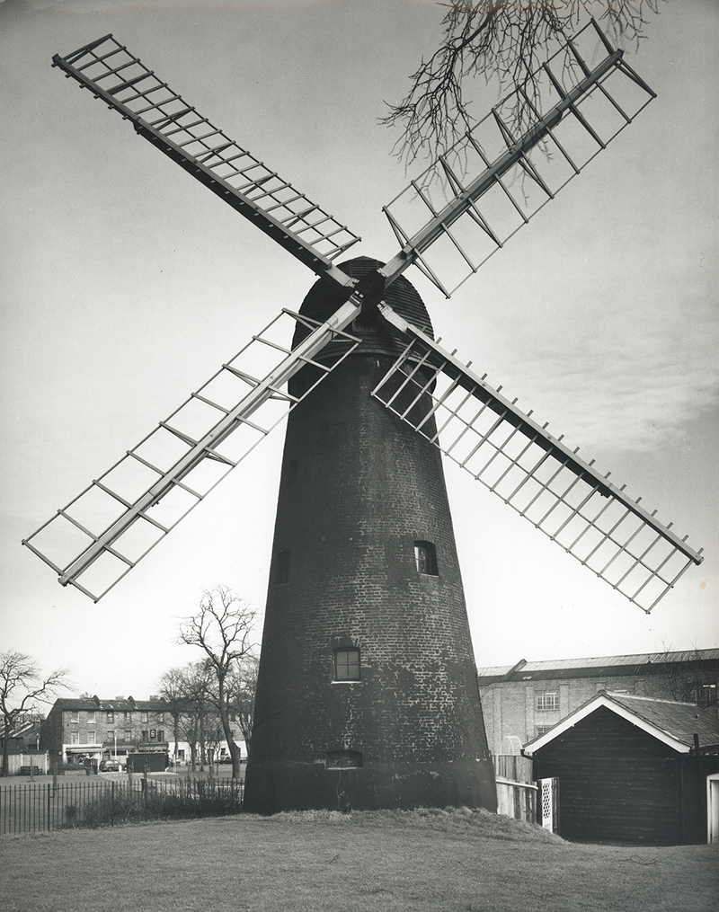 Brixton Windmill in 1964