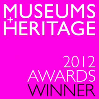 Museums Heritage 2012 awards winner