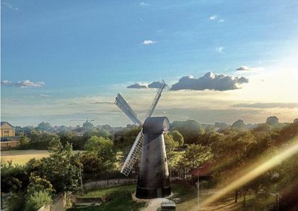 Brixton Windmill - postcards