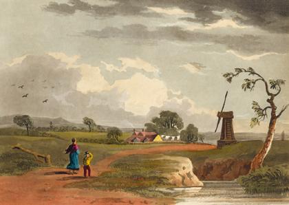 brixton windmill postcard