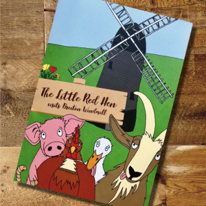 Little Red Hen Story Book
