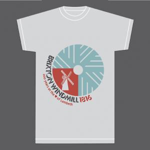 millstone brixton windmill t-shirt