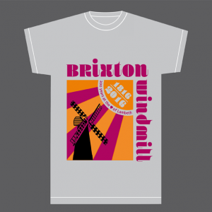 retro brixton windmill t-shirt