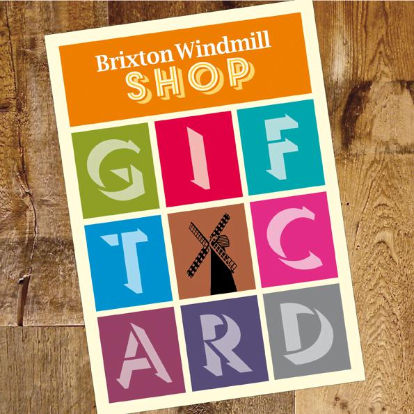 brixton windmill gift card