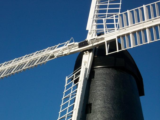 Brixton Windmill sails after restoration