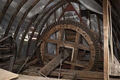 The brake wheel