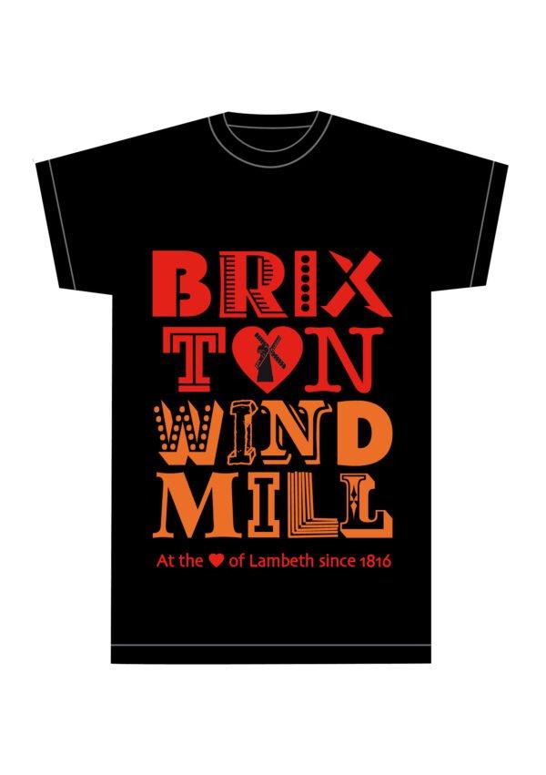 Brixton Windmill black t-shirt