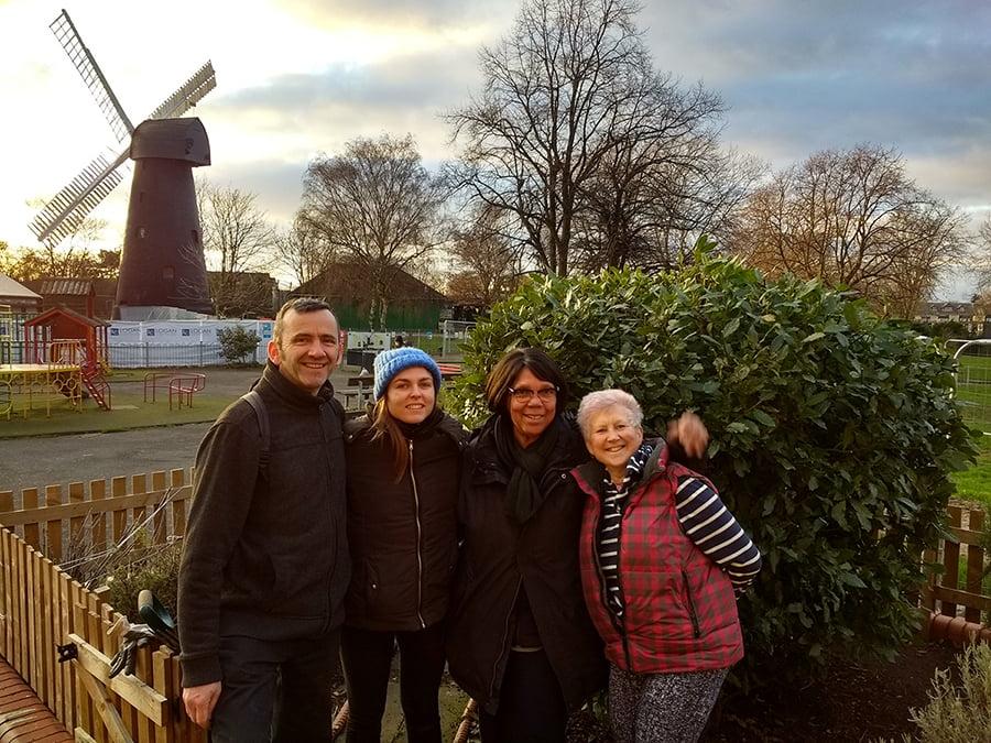 Volunteers at Brixton Windmill