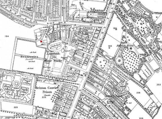 os map of 1870