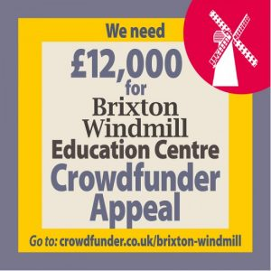 Brixton Windmill Education Centre Crowdfunder Appeal