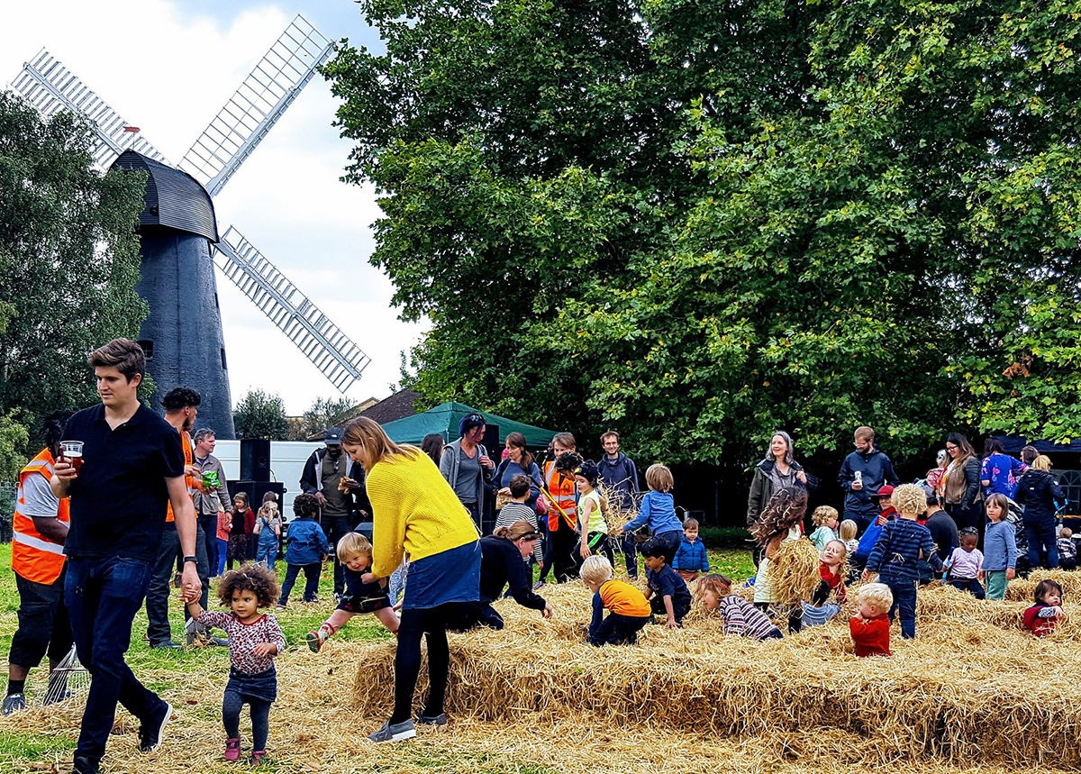 open day at brixton windmill