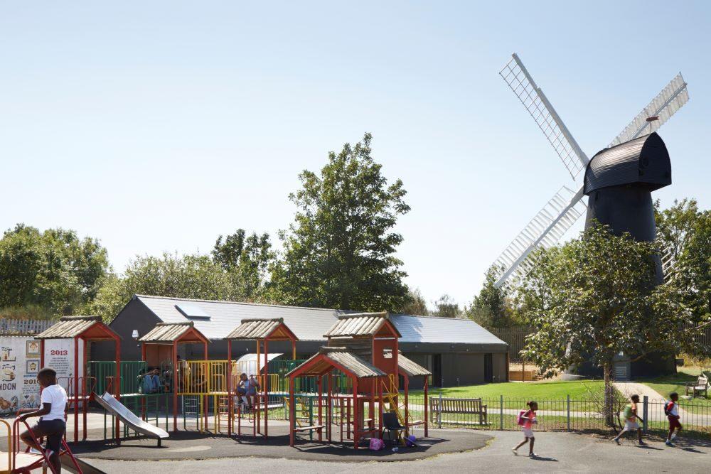 brixton windmill centre exterior