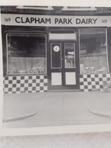 'Clapham Park Dairy' Shop Front